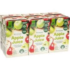 juice-non refrigerated, boxes