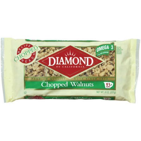 Diamond Walnuts Chopped  8 OZ BAG