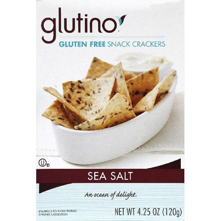 Gultino Gluten-Free Crackers Sea Salt  4.25oz