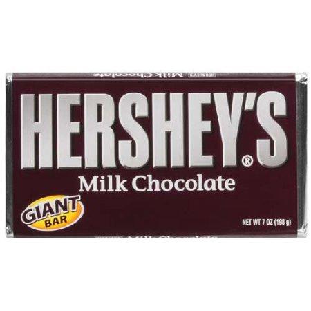 Hershey's Bar Milk Chocolate 7 OZ BAR