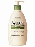 Aveeno Daily Moisturizing Lotion Fragrance Free  12 OZ BTL
