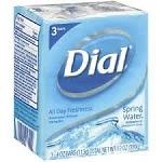 Dial Bath Soap Springwater 3 Pack
