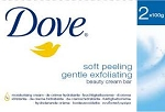 Dove Bath Soap Gentle Exfoliating 2 Pack
