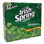 Irish Spring Bath Soap Deodorant 12 Pack  12 pack