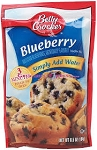 Betty Crocker Muffin Mix Blueberry  6.5 OZ