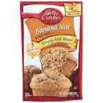 Betty Crocker Muffin Mix - Banna Nut  15.5 Oz