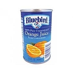 Blue Bird Orange Juice  46 OZ CAN