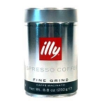 Illy - Fine Ground Expresso  250 grams CAN  250 grams CAN