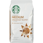 Starbucks Coffee Breakfast Blend Mild (Ground)  12 OZ BAG  12 OZ BAG