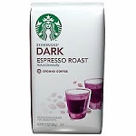 Starbucks Coffee Espresso Roast Smooth (Ground)  12 OZ BAG  12 OZ BAG