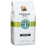 Starbucks Coffee French Roast Bold (Ground)  12 OZ BAG  12 OZ BAG