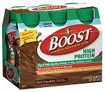Boost High Protein Nutritional Drink Strawberry - 6 ct  8 OZ CAN