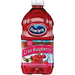 Ocean Spray Juice Drink Cranberry Raspberry  64 OZ BTL