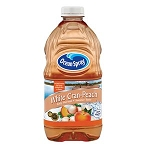 Ocean Spray Juice Drink White Cranberry Peach  64 OZ BTL