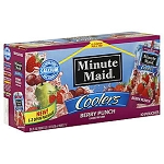Minute Maid Coolers Berry Punch - 10 ct  6.75 OZ BOX