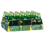 Perrier Sparkling Water Lime - 24 bottles  7 oz