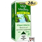 Bigelow Tea Bags Decaffeinated Herbal Mint Medley  28 CT BOX  28 CT BOX