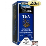 Bigelow Tea Bags English Teatime  28 CT BOX  28 CT BOX