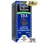 Bigelow Tea Bags Englsih Tea Time - Decaf  28 CT BOX  28 CT BOX