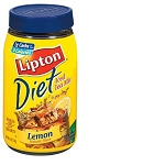 Lipton Iced Tea Mix Diet Lemon  10 QT JAR