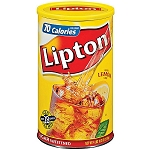 Lipton Iced Tea Mix Natural Brew  Raspberry  10 QT JAR