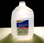 Distilled Water  I gallon