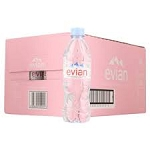 Evian Spring Water -24 bottles  330 Ml