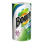 Bounty Quilted Paper Towels White  1 mega ROLL