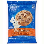Pillsbury Cookie Dough Big Peanut Butter Cup Ready to Bake - 12 ct  18 OZ PKG