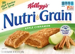 Kellogg's Nutri-Grain Cereal Bars Apple Cinnamon - 8 ct  10.4 OZ BOX