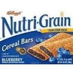 Kellogg's Nutri-Grain Cereal Bars Blueberry - 8 ct  10.4 OZ BOX