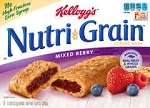 Kellogg's Nutri-Grain Cereal Bars Mixed Berry - 8 ct  10.4 OZ BOX