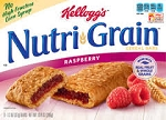 Kellogg's Nutri-Grain Cereal Bars Raspberry - 8 ct  10.4 OZ BOX