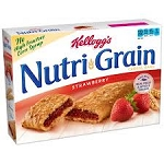 Kellogg's Nutri-Grain Cereal Bars Strawberry - 8 ct  10.4 OZ BOX