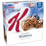 Kellogg's Special K Bars Blueberry - 6 ct  4.86 OZ BOX