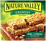 Nature Valley Crunchy Granola Bars Honey Oat - 12 ct  8.9 OZ BOX