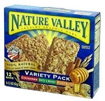 Nature Valley Crunchy Granola Bars Variety Pack - 12 ct  8.9 OZ BOX