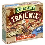Nature Valley Trail Mix Bars Apple Cinnamon - 6 ct  7.4 OZ BOX