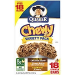 Quaker Chewy Granola Bars Variety - 10 ct  10 OZ BOX