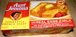 Aunt Jemima French Toast Home-style - 6 ct  12.5 OZ BOX