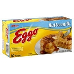 Eggo Waffles Buttermilk - 10 ct  12.3 OZ BOX