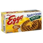 Eggo Waffles Nutri-Grain Low Fat - 10 ct  12.3 OZ BOX