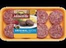 Jonesville Golden Brown Sausage Patties - 6 ct  9 OZ BOX