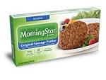 Morningstar Farms Meatless Breakfast Patties - 6 ct  8 OZ BOX