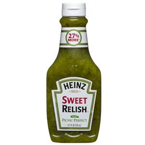Heinz- Sweet Relish 10 oz