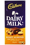 Cadbury Chocolate Bar Roast Almond  5 OZ BAR
