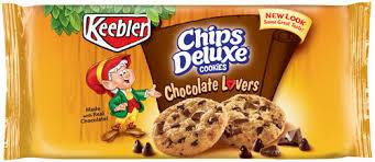 keebler chips deluxe cookies chocolate lovers 15 oz pkg