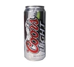 Coors Light cans  24 Cans