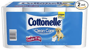 Cottonelle Double Roll Bath Tissue   24 ROLL PKG
