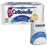 Cottonelle Double Roll Bath Tissue Ripples- 24 Roll  24 rolls